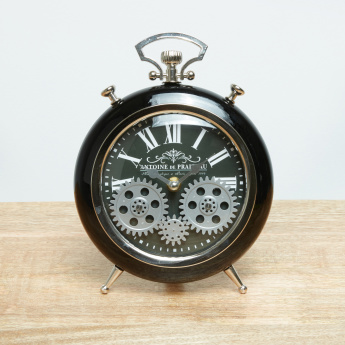 Zane Gear Table Clock