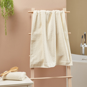 Organic Textured Bath Towel - 70x140 cms