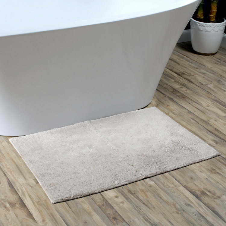 Textured Rectangular Bathmat - 60x90 cms