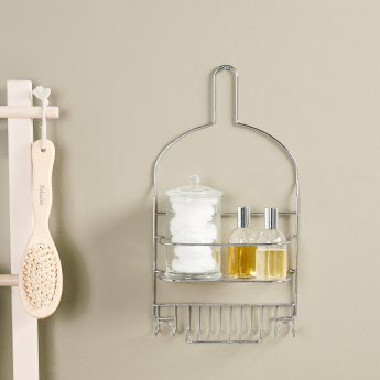Jane Shower Caddy with Soap Holder and Hook