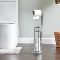 Rain Toilet Roll Holder with Storage