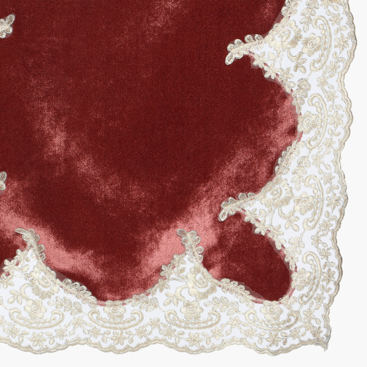 Ana Lace Detail Table Runner - 180x40 cms