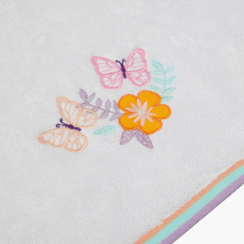 Kelly's Embroidered Butterfly Bath Towel - 70x140 cms