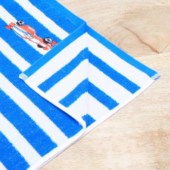 Champ's Racer Striped Hand Towel - 50x90 cms