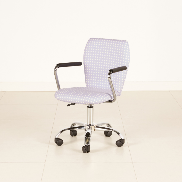 Alison's Height Adjustable Study Chair with Curved Arms