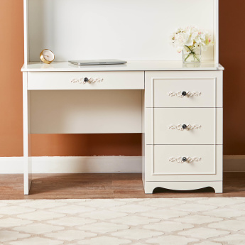 Valentina 4-Drawer Dressing Table
