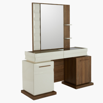 Samara Dressing Table with Mirror and Storage
