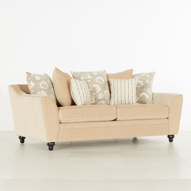 Elizabeth 3-seater Fabric Sofa
