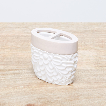 Dorab Embossed Tooth Brush Holder