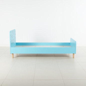 Sean Printed Single Bed Frame - 205x95 cms