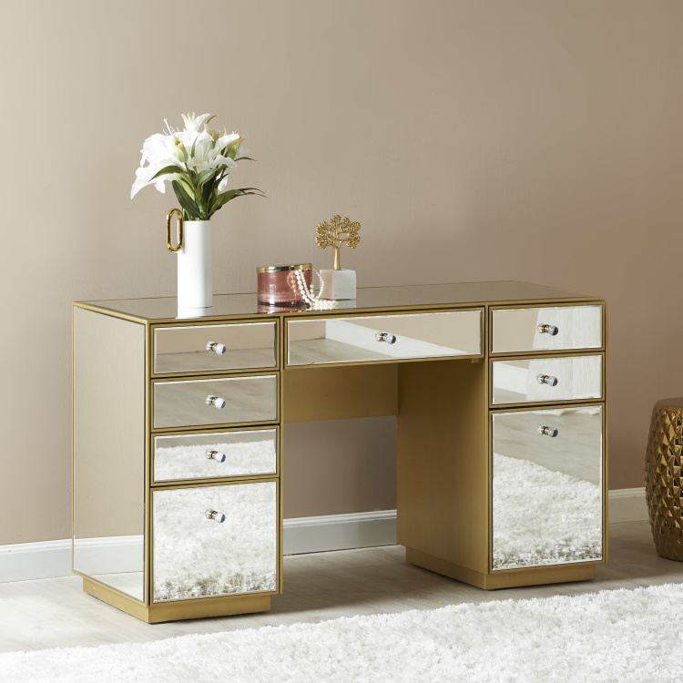 Bellezza 8-Drawer Dressing Table
