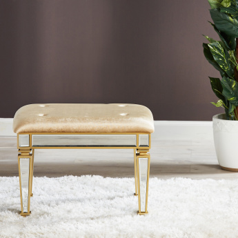 Bellezza Stool with Fixed Cushion