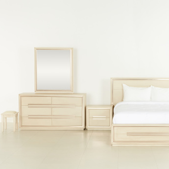 Bronx 6-Piece King Bedroom Set - 210x227 cms