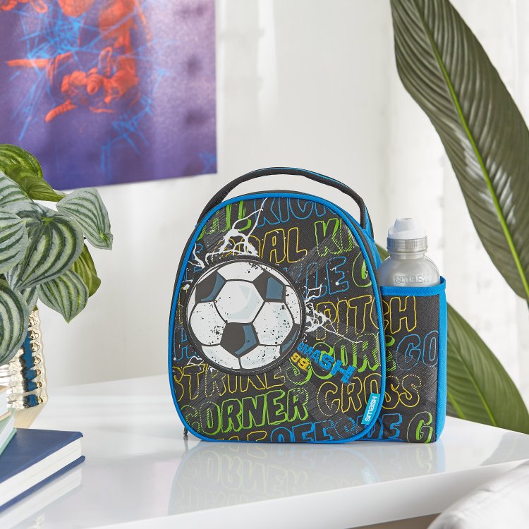 Printed Lunch Bag with Bottle