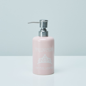 Princess of the House Printed Soap Dispenser with Pump