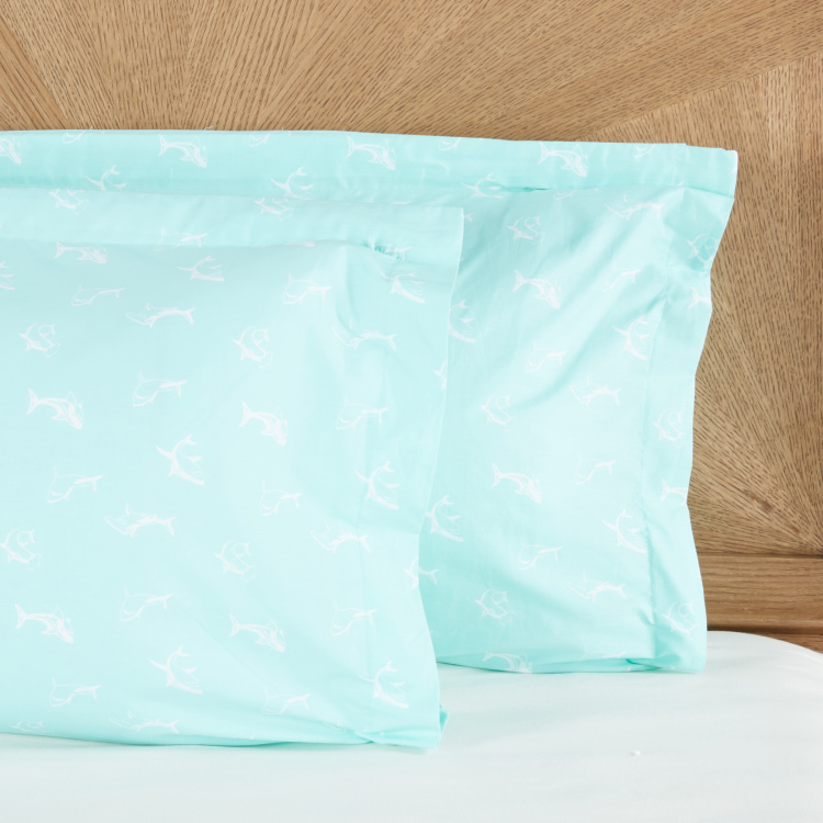 Steve Printed Oxford Pillowcase - Set of 2