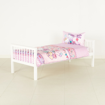 Hello Kitty Printed 2-Piece Single Duvet Cover Set - 135x200 cms
