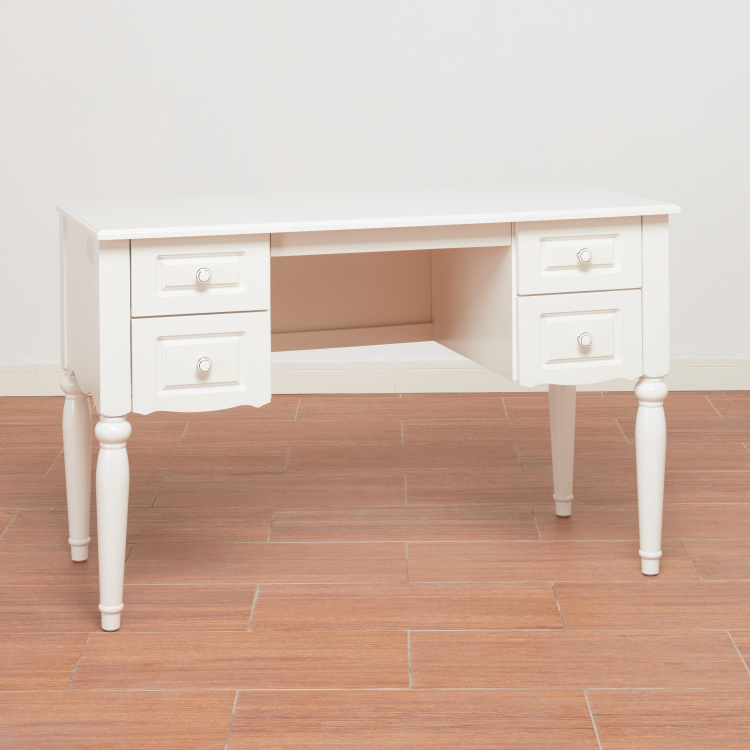 Aurora 4-Drawer Study Desk