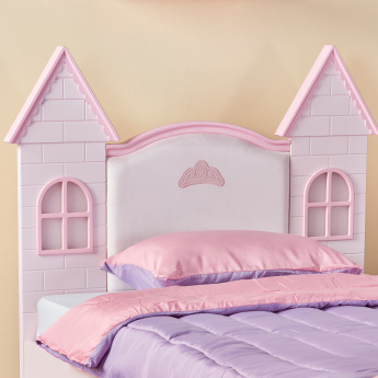 Royal Story Castle Bed with Lights - 120x200 cms
