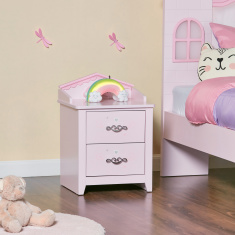 Royal Story 2-Drawer Night Stand