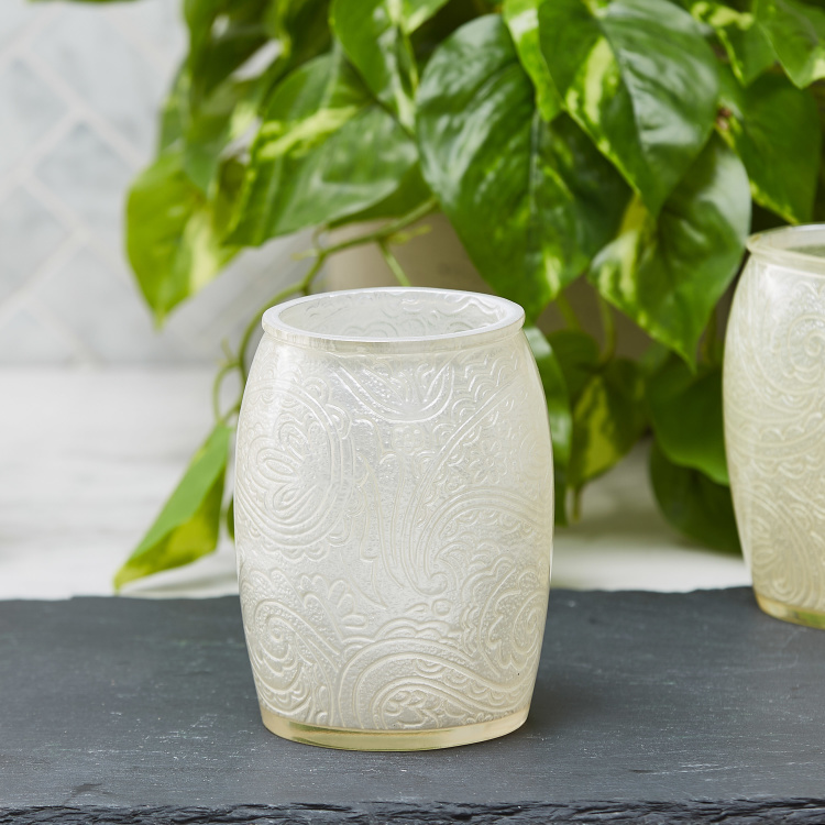 Crucian Textured Hand-Painted Tumbler