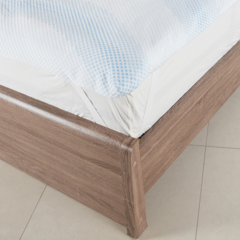 Tencel Jaquard Mattress Topper Cover - 900x200 cms