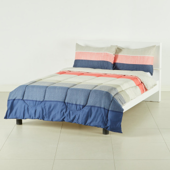 Ming Striped 3-Piece Full Comforter Set - 160x240 cms