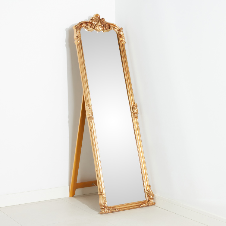 Suraj Bevelled Floor Mirror - 54x8x178 cms