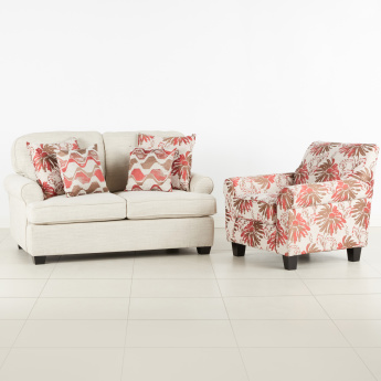 Detroit Printed 1-Seater Sofa