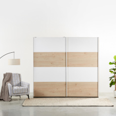 Calaluna 2-Door Sliding Wardrobe