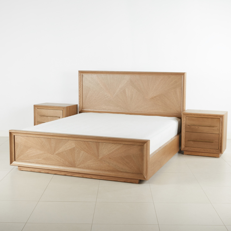 Malta 4-Piece King Bedroom Set - 180x210 cms