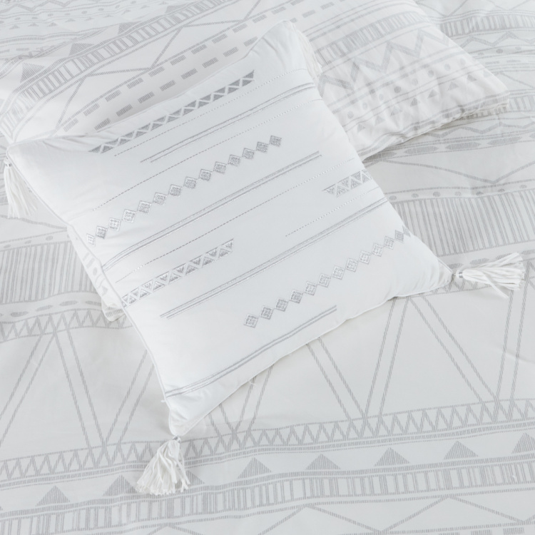 Pittsburgh Printed 5-Piece Queen Comforter Set - 200x240 cms