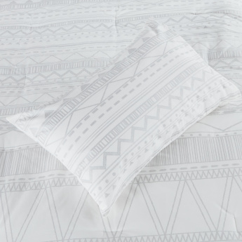 Pittsburgh Printed 5-Piece Super King Comforter Set - 260x250 cms