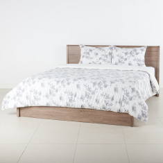 Urban Rose Printed 3-Piece King Duvet Cover Set - 230x220 cms