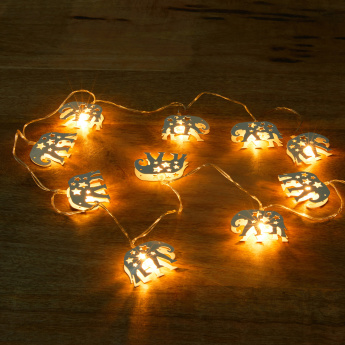 Elephant Shaped Battery Operated LED String Lights