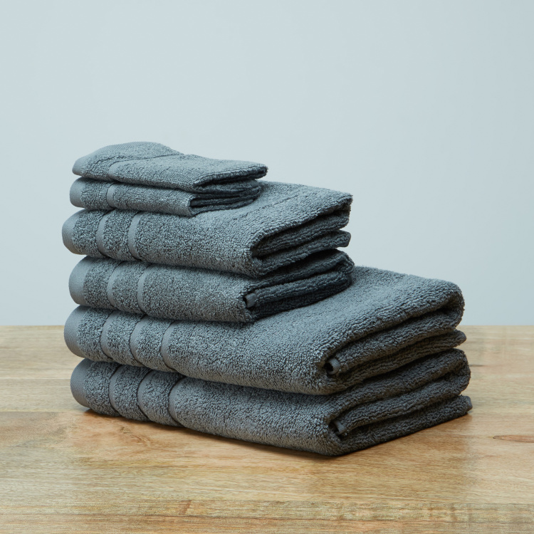Nicole Textured 6-Piece Towel Set