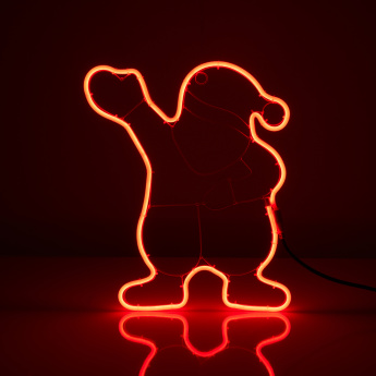 Santa Shaped Neon Table Light
