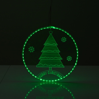 Tree Round Light with Rope