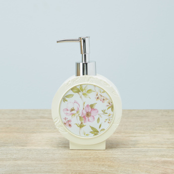 Oku Floral Printed Soap Dispenser