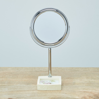 Oku Floral Printed Table Mirror