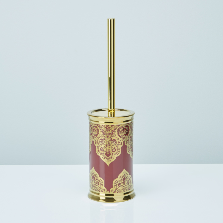 Tana Printed Toilet Brush Holder