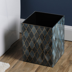 Kivu Printed Glass Waste Bin