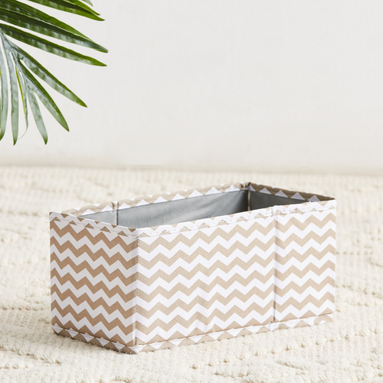 Domino Chevron Printed Drawer Organiser