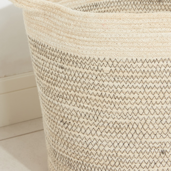 Clive Handmade Storage Basket with Handles