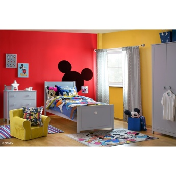 Mickey and Friends Printed 2-Piece Comforter Set - 100x170 cms