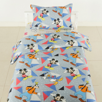 Mickey Mouse And Friends Printed 2-Piece Comforter Set - 135x220 cms