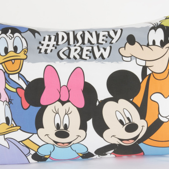 Mickey and Friends Printed Pillowcase - Set of 2