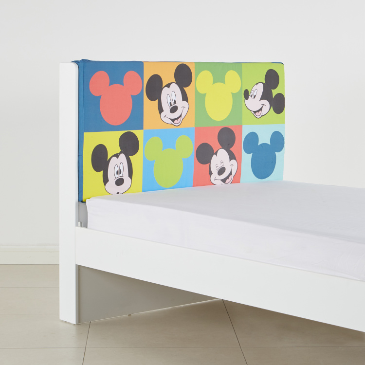 KidIt Mickey Mouse Printed Headboard Cover
