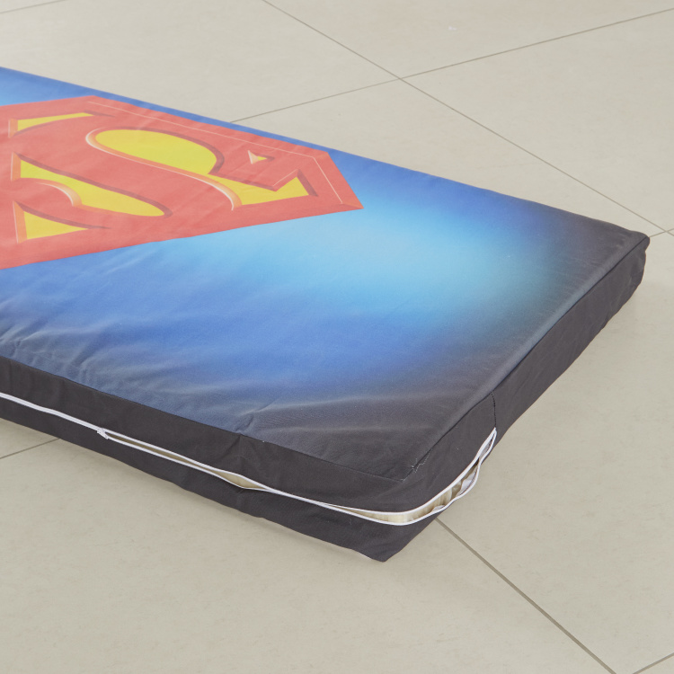 KidIt Superman Printed Headboard Cover