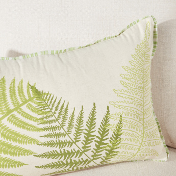 Botanica Printed Cushion Cover with Zip Closure - 40x65 cms